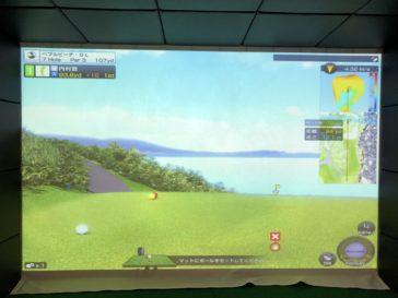 福岡のゴルフ練習場 スイングワン のシミュレーター7H